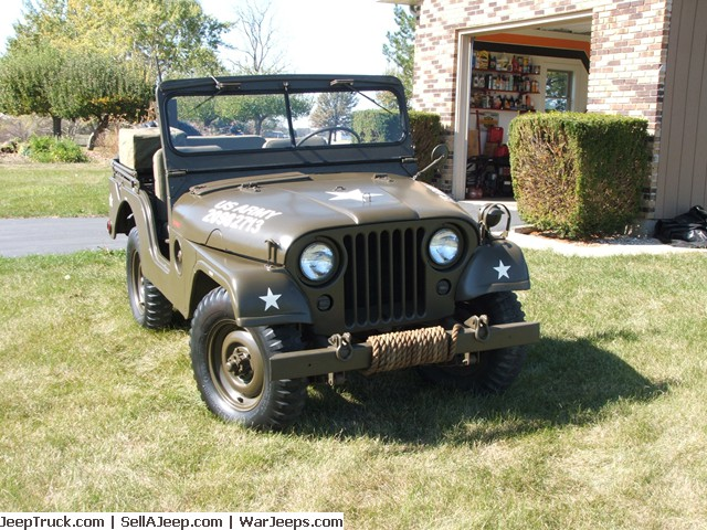 1953 M38A1 Frame off Restoration