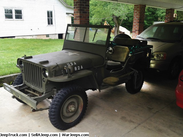 Auction 3 Willys Jeeps
