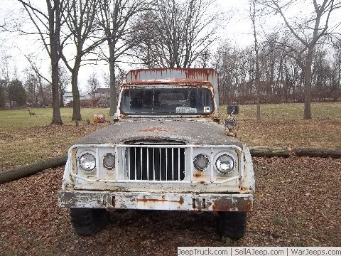 Used Jeeps and Jeep Parts For Sale - 1967 JEEP KAISER M 715