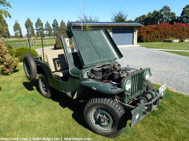 1946 CJ2A Willys Jeep