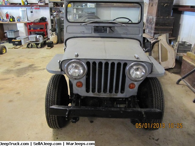 Used Jeeps and Jeep Parts For Sale - 1950 NAVY JEEP