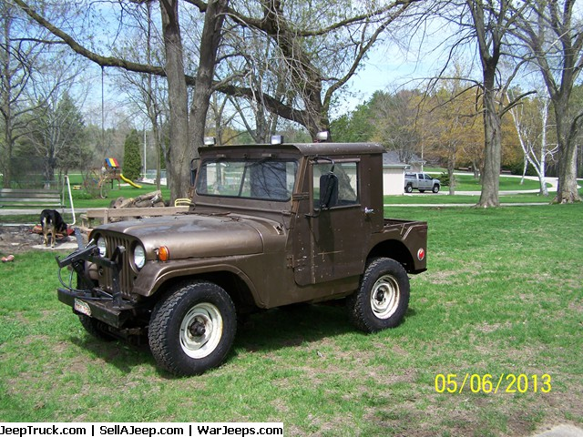 1952 Willys Overland military jeep