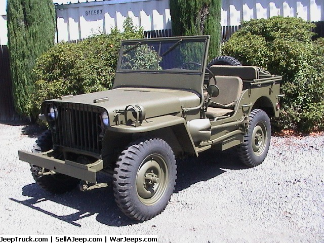 Ww2 Jeep For Sale >> Military Jeeps For Sale Feature Articles Free Classifieds