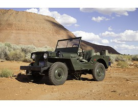 1945 Willys CJ2 Jeep
