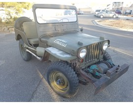 1951 M38 Willys Military Jeep