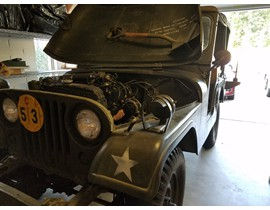 1953 Jeep M38A1 Front Line Ambulance