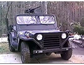 1965 M151 A1 Army Jeep