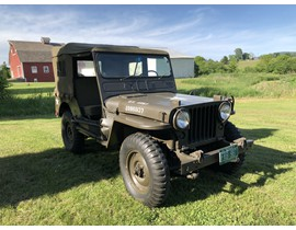 1952 M38 Willys Military Jeep