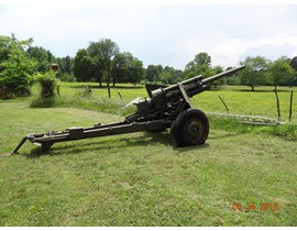 3 Original WW2 Cannons