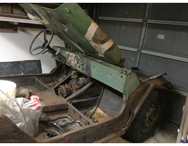 70's M151 A2 and trailer
