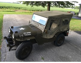 1951 Willys M-38