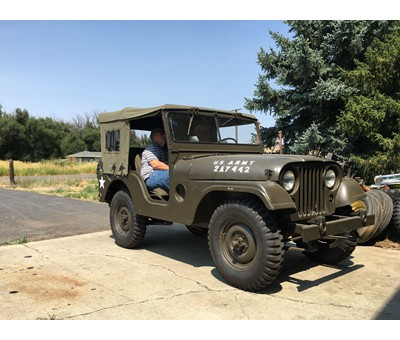 1957 Willy's M38A-1 Military 4-wheel-drive Jeep