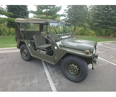1971 Ford M151 A2 Jeep