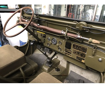1951 Willys M-38 Army Jeep