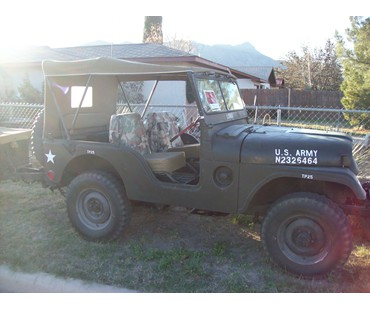 1955 m38a1 Willys Jeep and m100