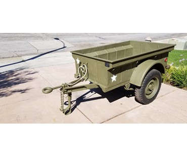 1942 WWII Willys MBT trailer