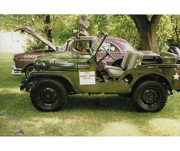 1952 Willys Korean War Jeep