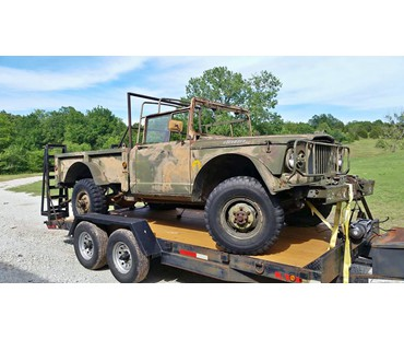 1967 M715 Cargo Truck with Winch