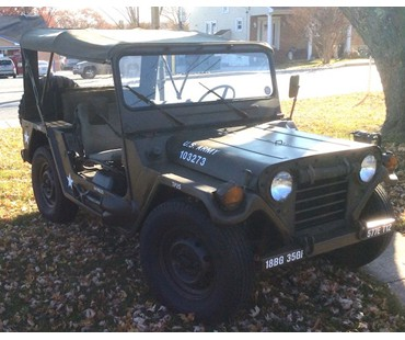 1969 M151A2 Uncut and NO rust