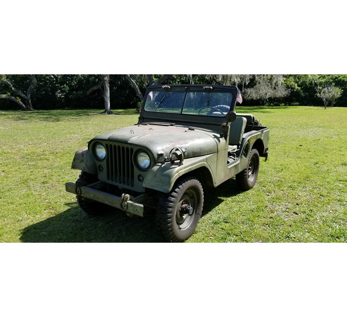 1962 Willys M38A1 Marine Jeep