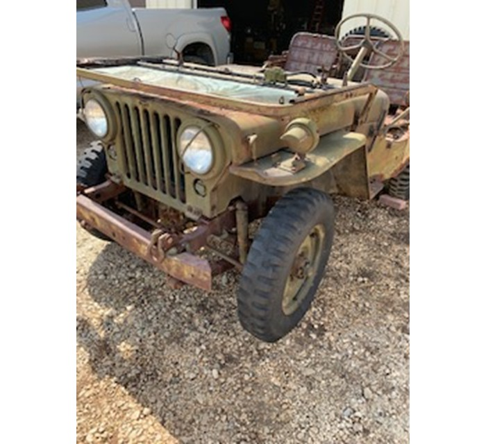 Willys M38 Jeep Barn Find