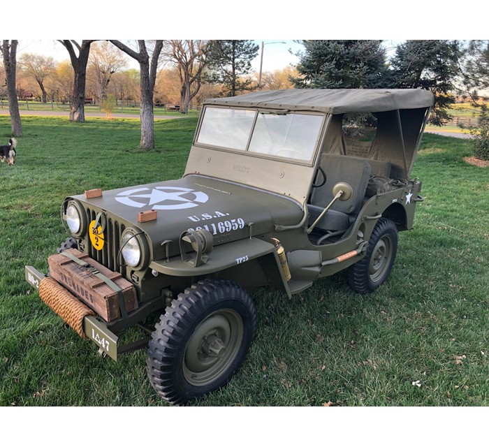 1947 Willys CJ2A Finished to Military