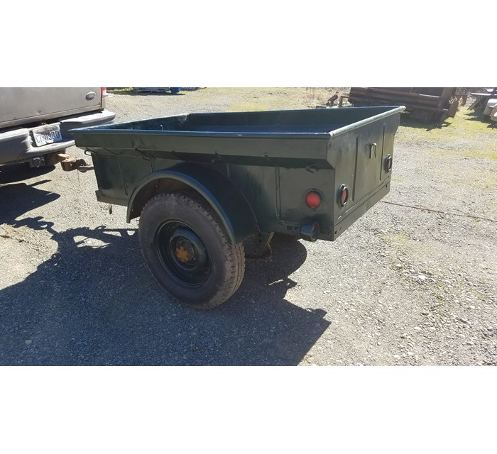 2 1942 trailers 1 Converto Airborn and 1 General Purpose