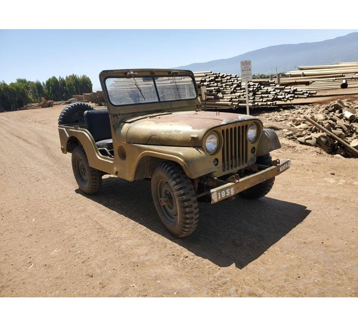 1955 Jeep M38A1 Willys