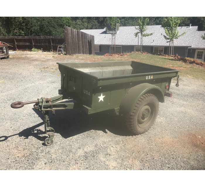 1942 Willys MBT Jeep Trailer 9/42