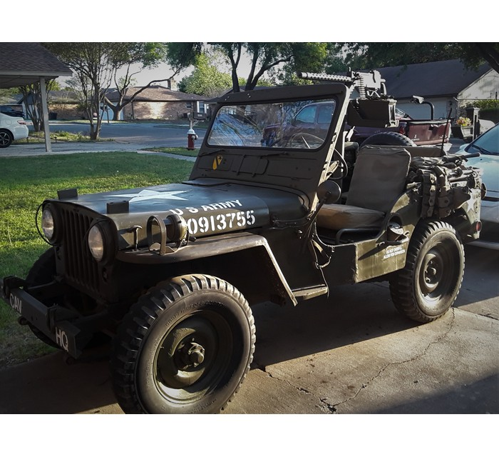 1952 M38 Jeep Restored to Combat Class