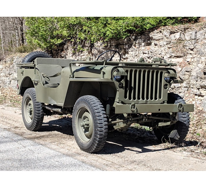 1942 Canadian Contract Willys MB F/S