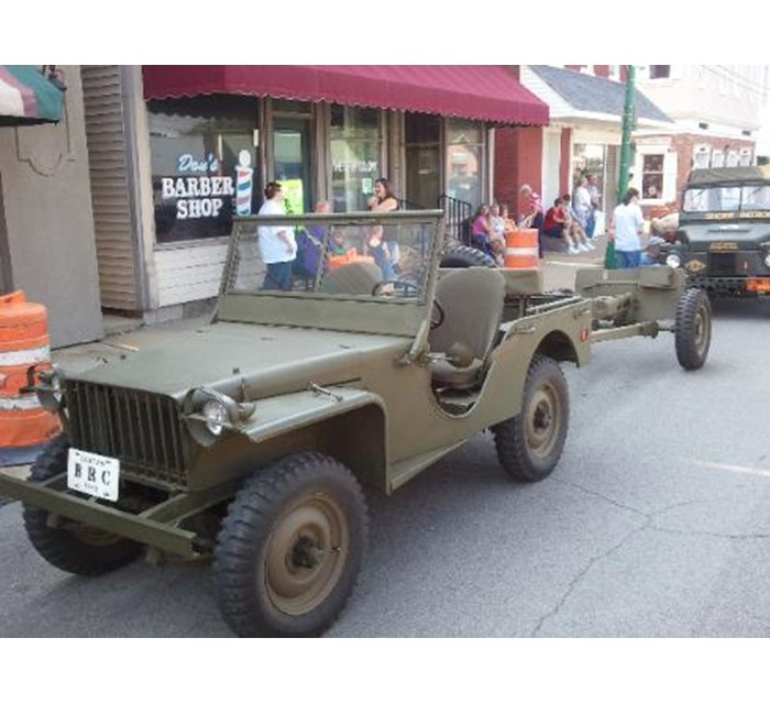 1941 WW II Bantam Jeep Model BR-40