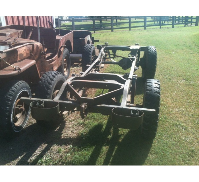 Willys M38 Military Jeep chassis