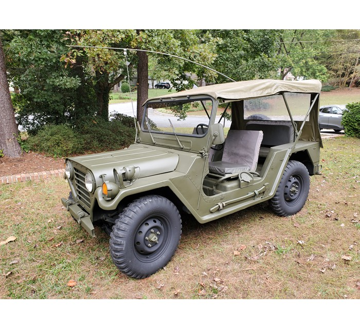 Restored Rust-free Uncut Titled Ford M151A2 Military Jeep