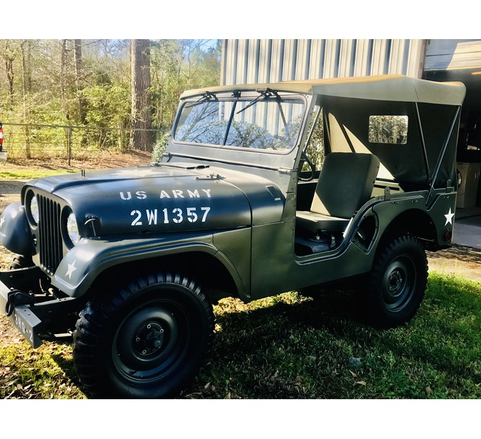1953 M38-A1 Willys Military Jeep