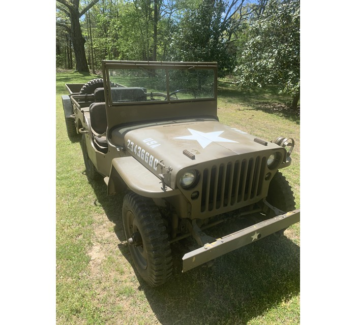 1944 Ford GPW and M-416 trailer