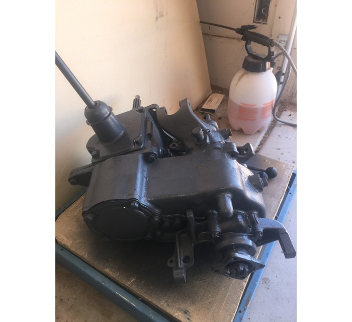 Original GPW T 84 Transmission And Dana 18 Transfer Case Ready To Install