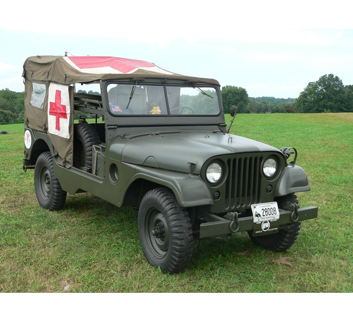 1954 Willys Overland M170 Front Line Ambulance