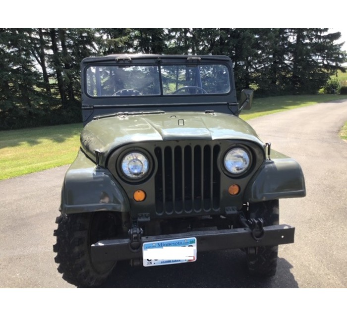 1952 Willys M-38A1 Jeep