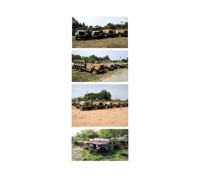 Jeeps in Thailand