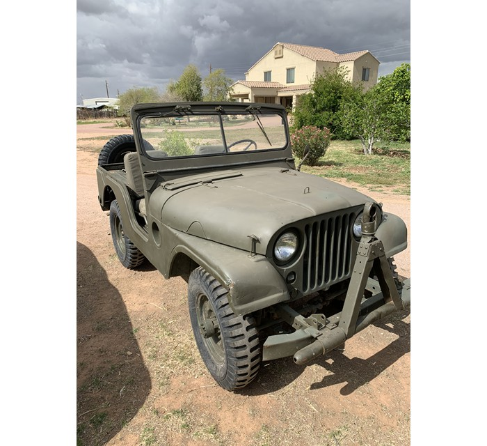 1960 Willy's M38A1