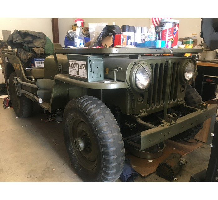 M38 Jeep. Don't want it. Need M151A1