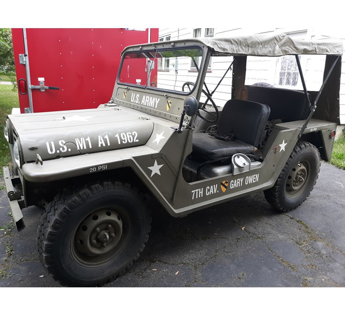 1962 M 151 Ford Mutt Titled and Uncut