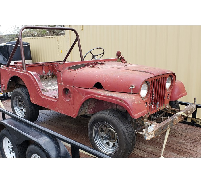 1952 M38A1 Military Jeep Firefighter ORIGINAL With Engine Ready To Restore!