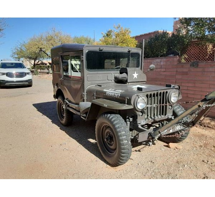 1952 M38 Hardtop Willys Gas Fired Heater Jeep MC