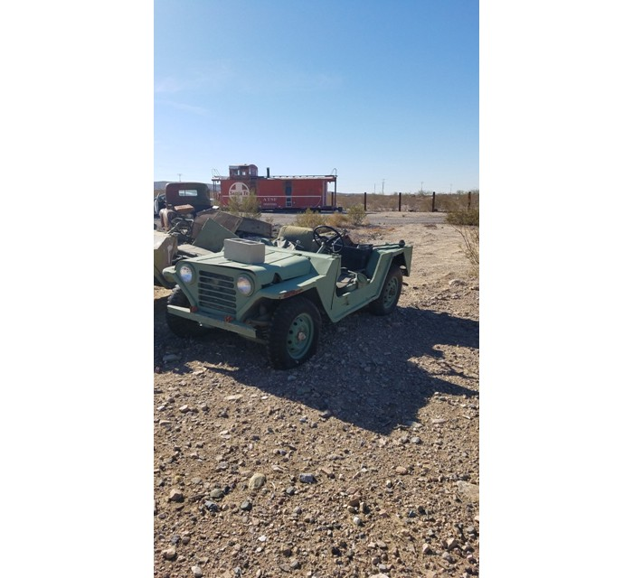 2 - M150 Military Jeeps