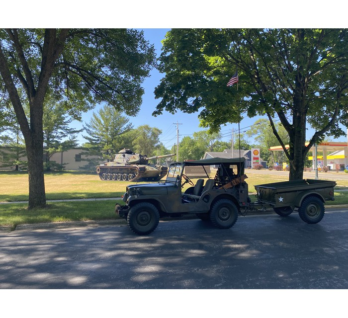 1952 M38-A1 Jeep with 1952 Strickland Trailer
