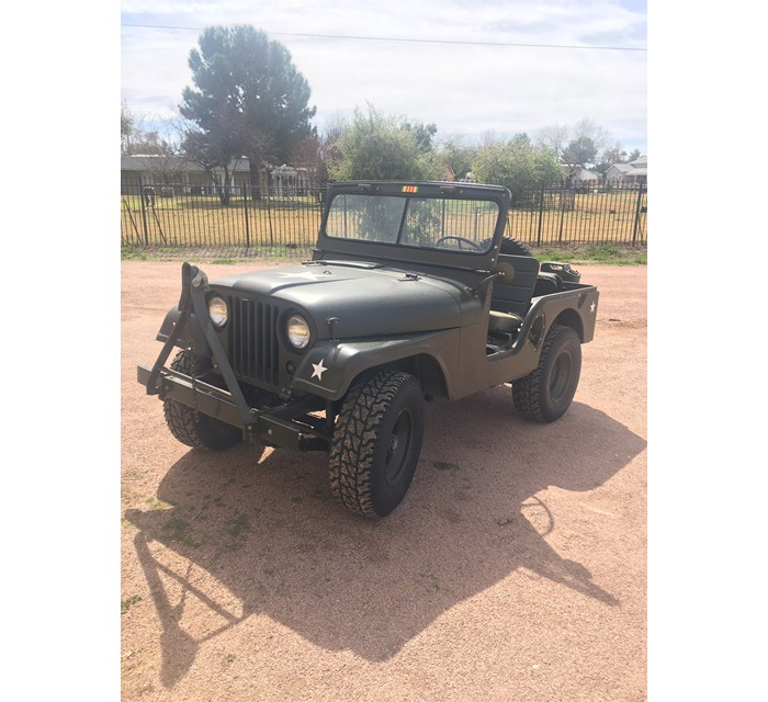 1958 Jeep M38A1