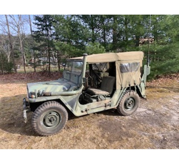 1967 Ford M151A1 Mutt