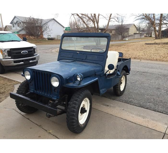 1951 Willys M38 CJ3A Jeep